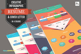 creative ways to get your resume noticed creative market blog infographic resume template