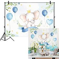 Allenjoy 7x5ft Watercolor Elephant Backdrop for ... - Amazon.com