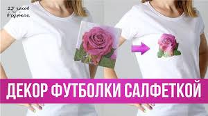 Как сделать МОДНЫЙ ПРИНТ на футболке с помощью ...