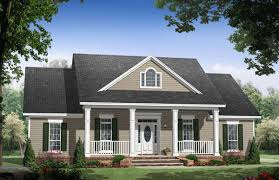 New House Plan HDC    is an Easy to Build  Affordable Bed    Front Image