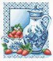Схемы для вышивки крестом кухня натюрморты