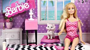 barbie doll and bedroom furniture set barbie sypialnia z lalk cfb63 cfb60 recenzja barbie bedroom furniture