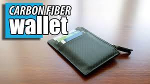 <b>Carbon Fiber Leather</b> Slim Wallet - The Slimline by <b>Carbon</b> Wallets ...