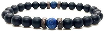 Amazon.com: <b>Men Bracelet Natural Moonstone</b> Bead Tibetan ...