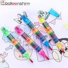 kids graffiti oil pastel crayon 12 16 colors washable painting pen safety non toxic children artist supplies zgm9112