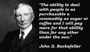 Rockefeller Quotes. QuotesGram via Relatably.com