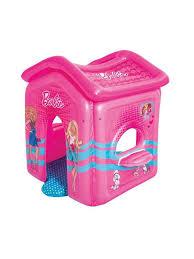 Домик <b>надувной</b> для игр, Барби <b>Bestway</b> 6372942 в интернет ...