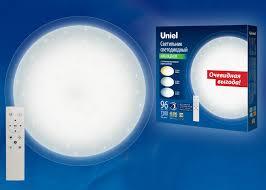 Купить светодиодный <b>светильник Uniel ULI-D214</b> 96W/SW/50 ...