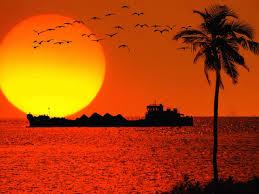صور خلفيات لغروب الشمس عالية