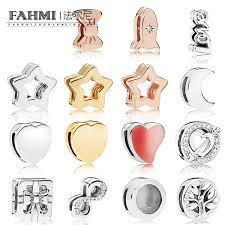 2019 FAHMI <b>100</b>% <b>925 Sterling Silver</b> Shine Reflexions Star Clip ...
