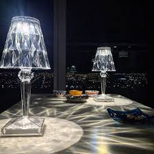 kartell uae on twitter battery lamps by ferruccio laviani kartell get 1 or 2 for the perfect dining table decoration indoors or outdoors battery lamps ferruccio laviani