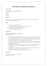 s associate duties for resumes   template   template s associate duties for resumes