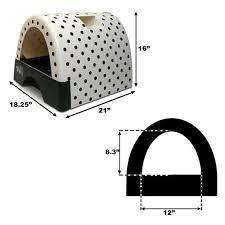 kittyagogo designer cat litter box with new leopard print cover arena kitty litter box