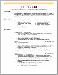 server food restaurant resume example emphasis 3 full my blog server food restaurant resume example emphasis 3 full