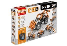 Купить <b>Конструктор ENGINO INVENTOR</b>. Набор из 50 моделей с ...