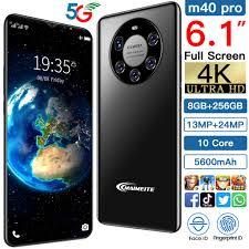 New Cell Phone <b>M40 Pro/Plus</b> 6.1inch 4800mA 8+256GB ...