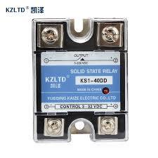 <b>SSR</b> 40DD 40A Solid State Relays 40A <b>SSR</b> 3 32V <b>DC</b> to 5~<b>220V</b> ...