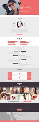 photographer cv wordpress theme 51090 photographer cv wordpress theme