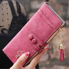 Women Purse Card Holder Long Wallet Clutch Tassel Zipper ... - Vova