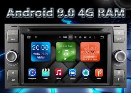 <b>Eunavi 2 Din</b> Android 9 4G 64G Car DVD for FORD S Max Kuga ...