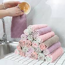 5pcs двухсторонний вода поглощающей кухня мытья очистки ...