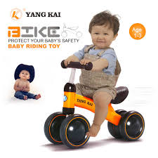Walkers <b>Kids Balance Bike Toddler Push Scooter</b> Baby Walker 4 ...