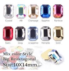 Best Price High quality big crystal nail ideas and get free shipping ...