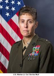 warhawk spotlight air war college students share leadership u s marine lt col denise mull