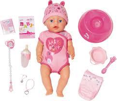 <b>Кукла Zapf Creation Baby</b> Born интерактивная, 43 см — купить в ...