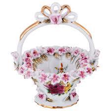 <b>Ваза Lefard</b>, 101-1072, белый, розовый, высота 11 см — купить в ...