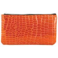 "<b>Пенал</b>-косметичка ""Сафари"", оранжевый, 24x13x1 см | Купить с ..."