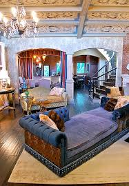view in gallery plush couch in purple steals the show in this bohemian living room bohemian living room furniture