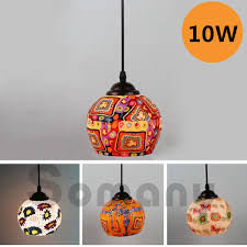 led 10w bohemian style mosaic lights 12 choices for restauranthotelcafehome bohemian lighting