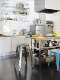 Kitchen Racks Stainless Steel 15 Dramatic Kitchen Designs With Stainless Steel Shelves Rilane