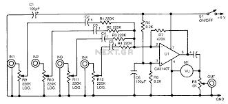 mixer circuit diagram the wiring diagram on simple electric schematic diagram