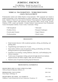 resume template cover letter for interpreter objective 81 surprising one page resume examples template