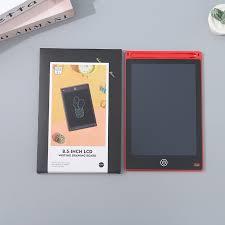 <b>8.5</b>-<b>Inch LCD Writing</b> Drawing Board (Red) - Ximivogue Brunei