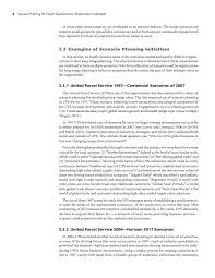 section 2 scenario development strategic issues facing page 8
