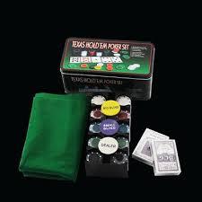 Poker <b>Chip</b> Set <b>200 Pieces Chips</b> Texas Hold'em Playing Cards ...
