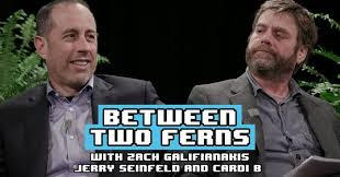 Between Two Ferns With Zach Galifianakis: Jerry Seinfeld & Cardi B ...