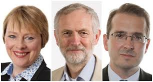 Image result for Corbyn, Eagle, Owen Smith