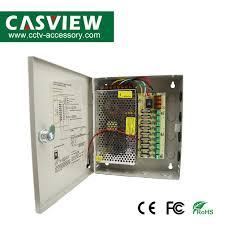 China Power Supply Box 12V 10A <b>9CH</b> CCTV Fused Box Auto ...