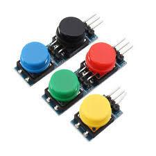5Pcs 12x12mm Key Switch Module Touch Tact Switch Push Button ...