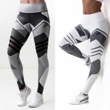 <b>High</b> Elastic <b>Leggings</b> Printing <b>Women Fitness Legging</b> Push Up ...