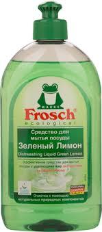 <b>Средство для мытья</b> посуды <b>FROSCH</b> Лимон – купить в сети ...