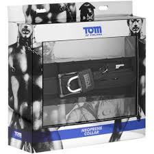 <b>Tom of Finland</b> Neoprene Collar, черный - Condom Shop