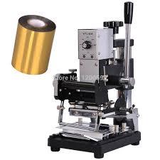 <b>Hot Foil</b> Stamping Machine <b>Manual</b> Bronzing Machine for PVC Card ...