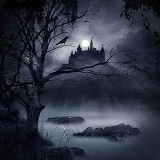 <b>Laeacco</b> Haunted <b>Castle</b> Backdrop 6x6ft Vinyl Photography ...