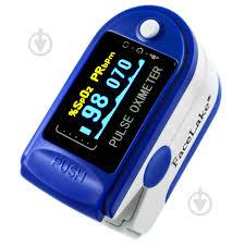 ᐉ <b>Пульсоксиметр Contec CMS50D</b> Цветной OLED дисплей Синий