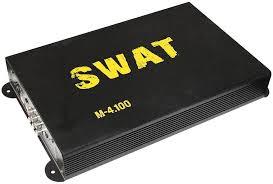 <b>Усилитель автомобильный SWAT M</b>-<b>4.100</b>, черный, отзывы ...